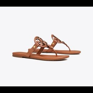 Tory Burch Womens Miller Sandals, Leather